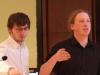Vortrag von Andreas Weich (im Bild links) und Julius Othmer